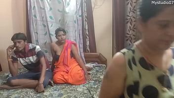 Hindi webserise Desi wife shared by husband