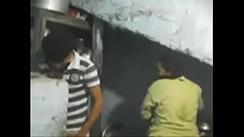 Hot Indian Girl Get Pressed in the Kitchen by her husband