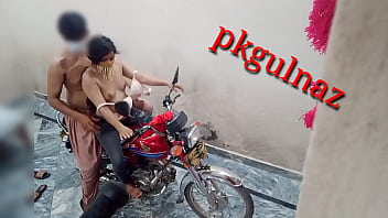 brother and sister having sex on bike