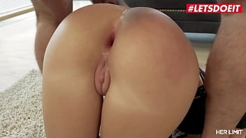 HER LIMIT – Rebecca Volpetti – Extreme Gaping From Intense Anal Sex With A Big White Cock